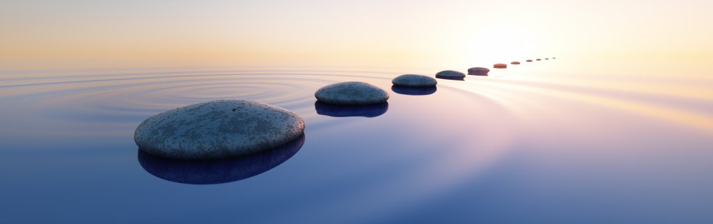 Mediation is like stepping stones to a resolution